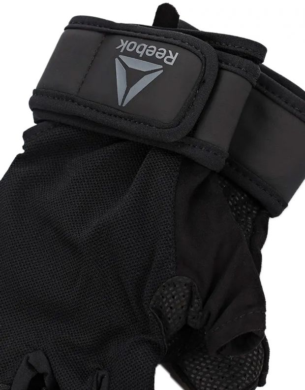REEBOK Wrist Gloves Black - EC5655 - 2