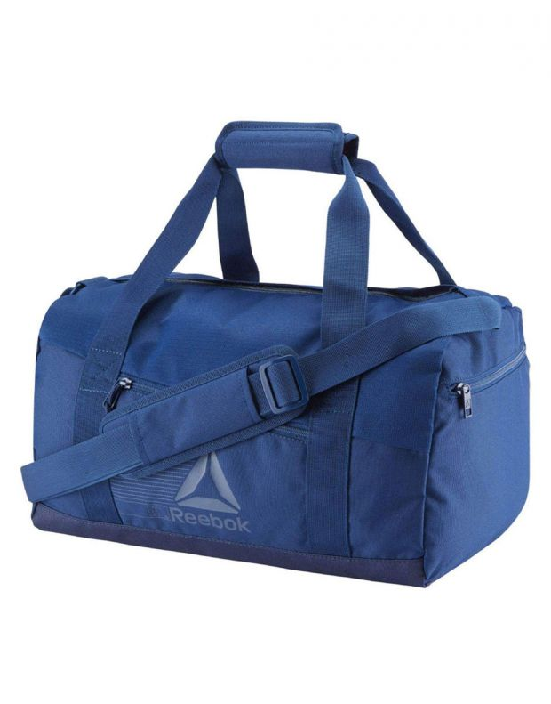 REEBOK Act Fon S Grip Duffel Bag Blue - CZ9861 - 1