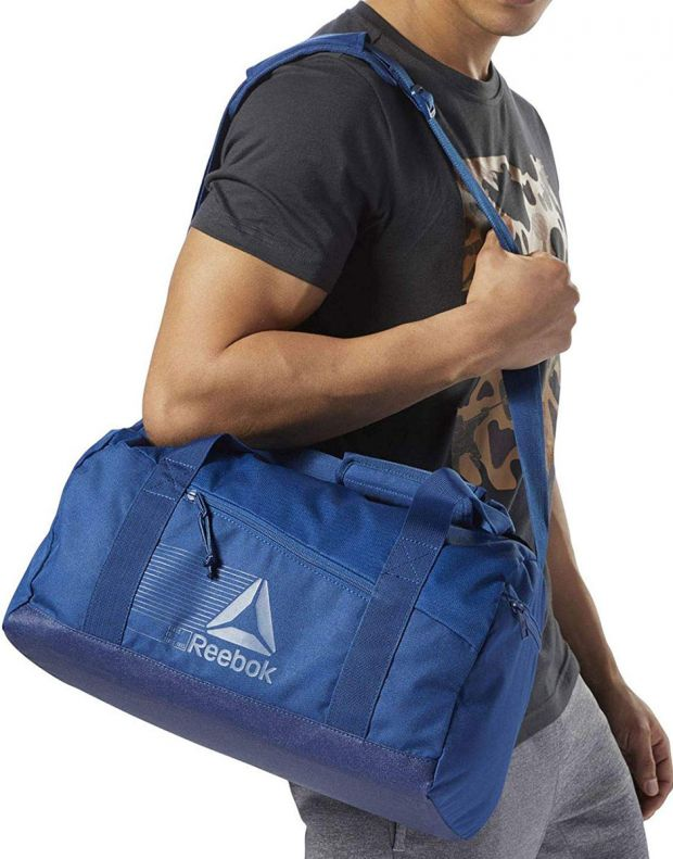 REEBOK Act Fon S Grip Duffel Bag Blue - CZ9861 - 3
