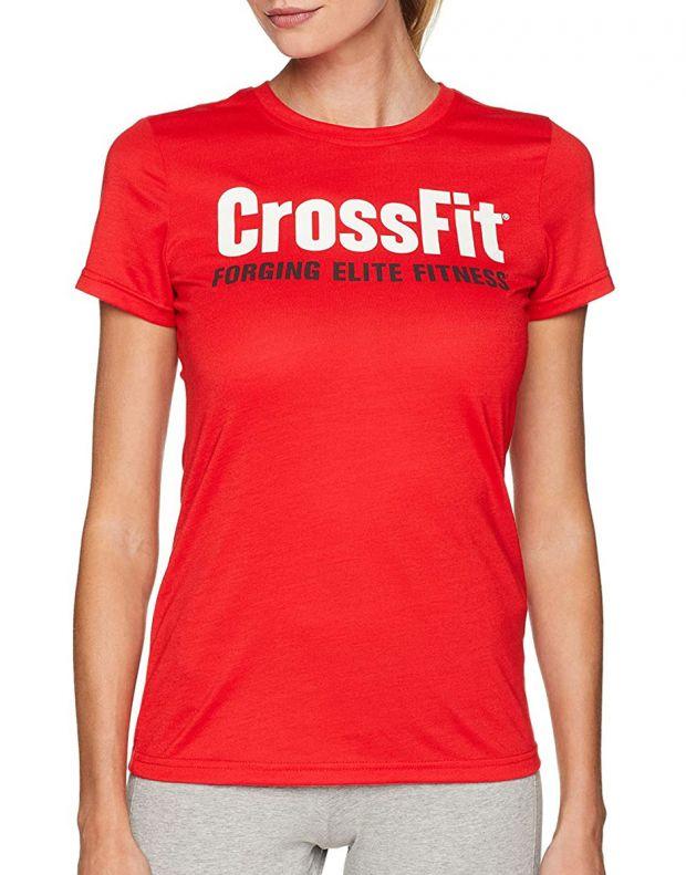 REEBOK Crossfit Tee Red - CF5765 - 1