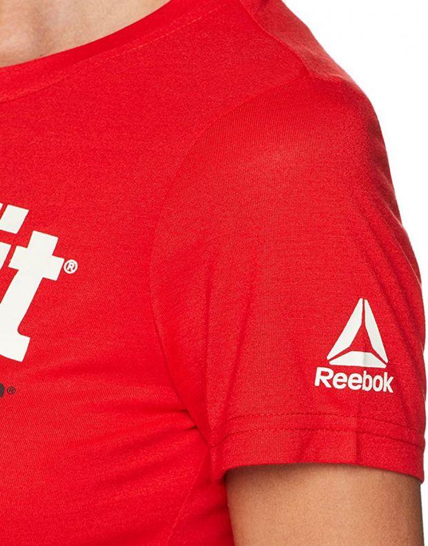 REEBOK Crossfit Tee Red - CF5765 - 3