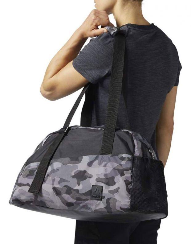REEBOK Graphic Grip Duffle Bag Grey - BR9440 - 4