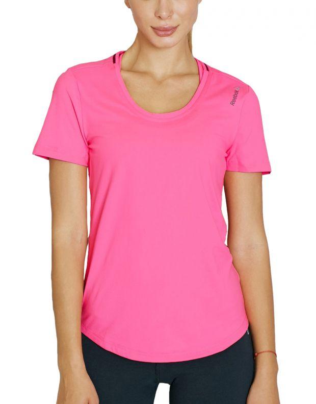 Reebok Workout Ready Tee Pink - AY2191 - 1