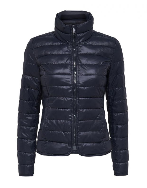 ONLY Short Quilted Jacket Blue - 3