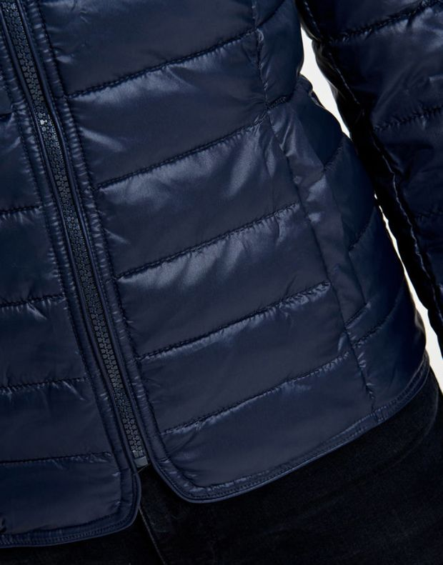 ONLY Short Quilted Jacket Blue - 5