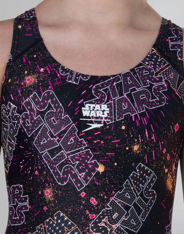 SPEEDO Star Wars Galaxy Allover Splashback Swimsuit - 807386C624 - 4