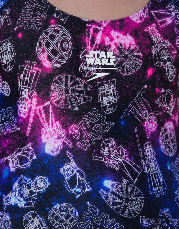 SPEEDO Star Wars Galaxy Cosmos Splashback Swimsuit - 807386C625 - 4