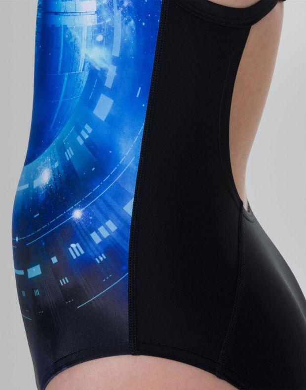 SPEEDO Star Wars Jedi Allover Thinstrap Crossback Swimsuit - 810839C626 - 4