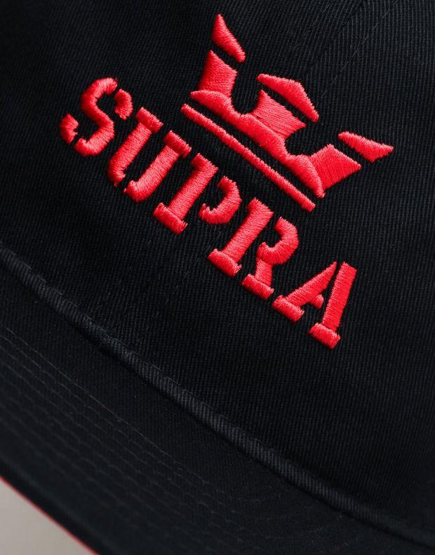 SUPRA Above Decon ZD Hat Black - C3091-008 - 3