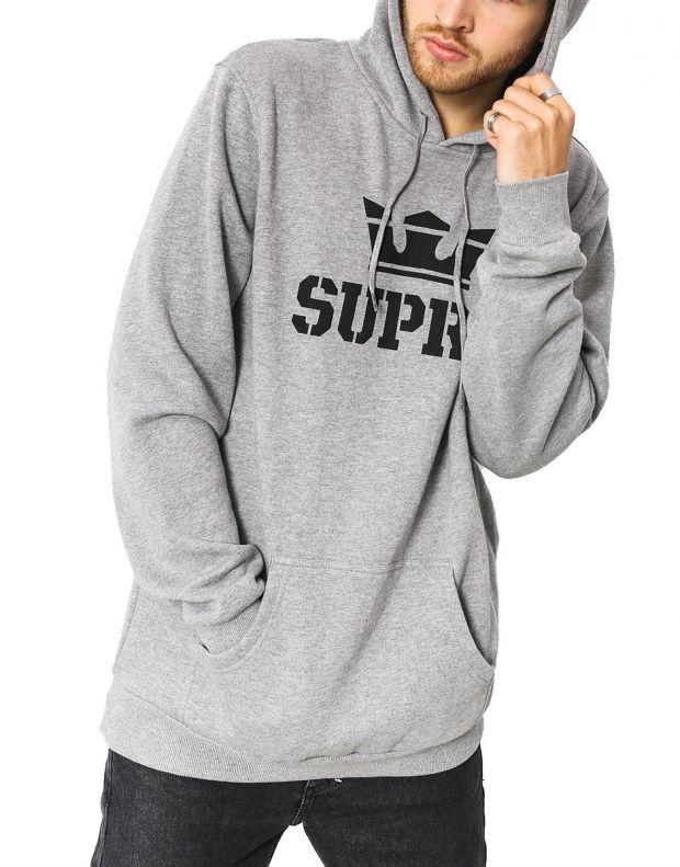 SUPRA Above Hoodie Grey - 104201-087 - 1