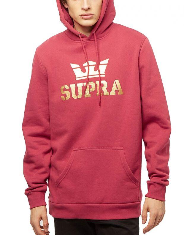 SUPRA Above Hoodie Red - 104201-628 - 1