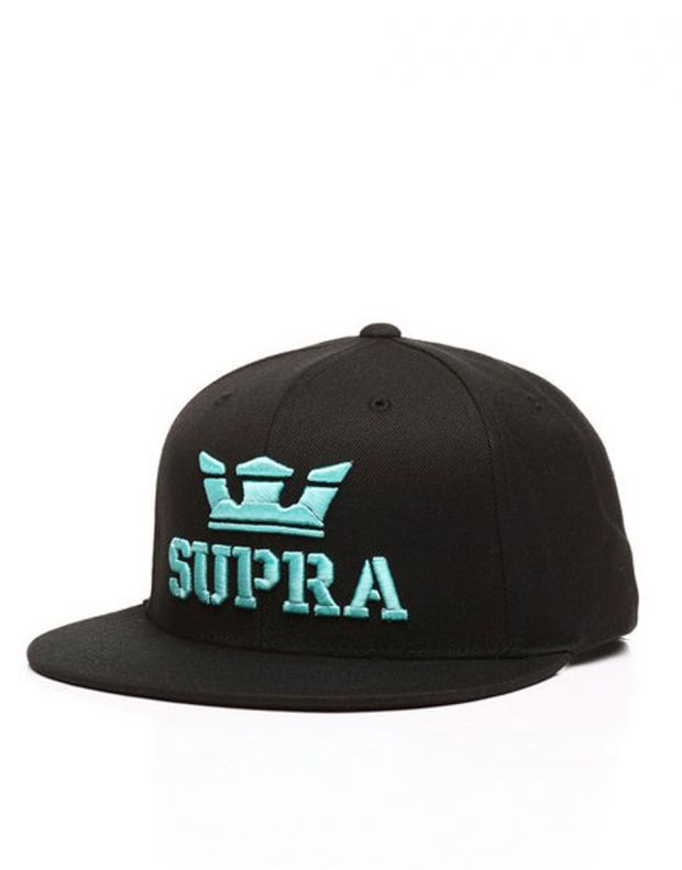 SUPRA Above II Snapback Hat Black/Electric - C3072-056 - 1