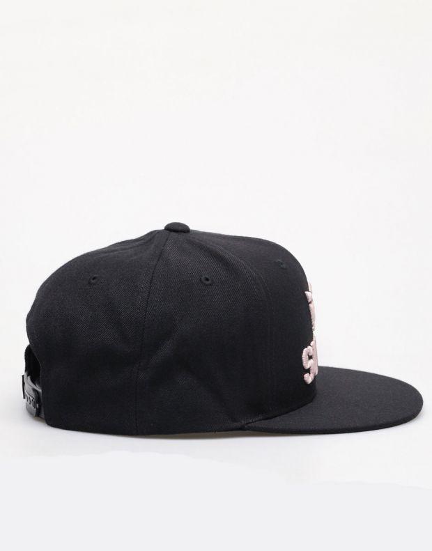 SUPRA Above II Snapback Hat Black/Mauve - C3072-058 - 2