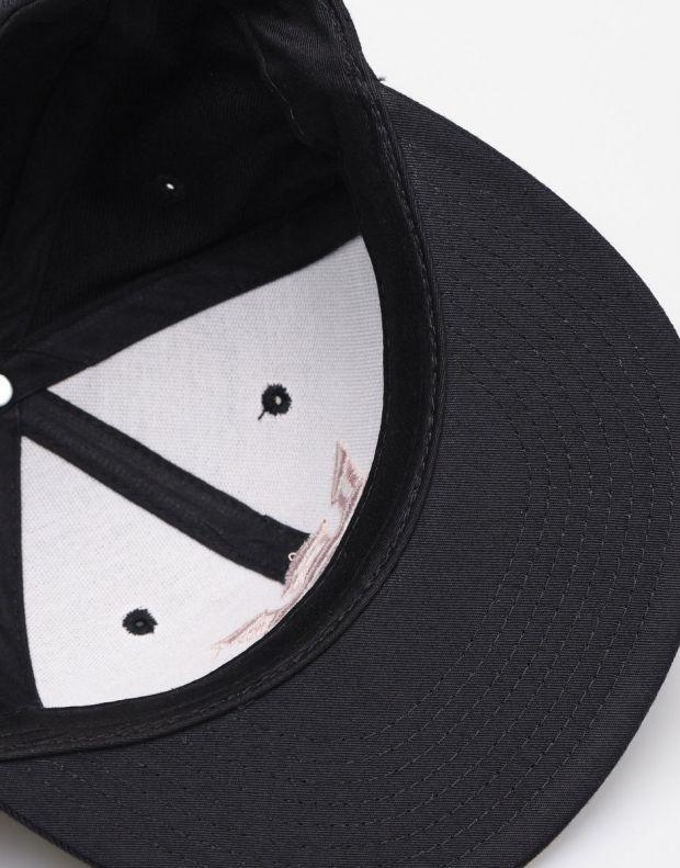 SUPRA Above II Snapback Hat Black/Mauve - C3072-058 - 4