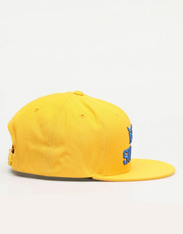 SUPRA Above II Snapback Hat Caution/Ocean - C3072-814 - 2