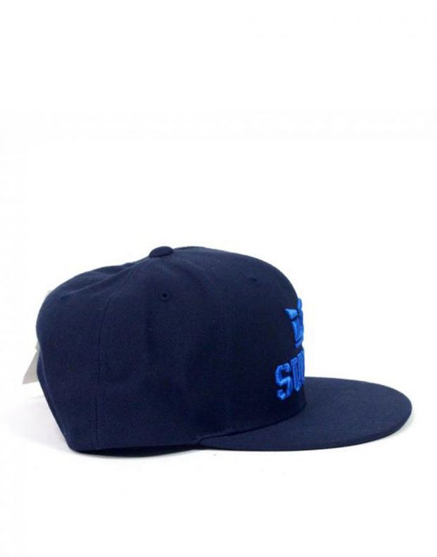 SUPRA Above II Snapback Hat Navy/Royal - C3072-420 - 2