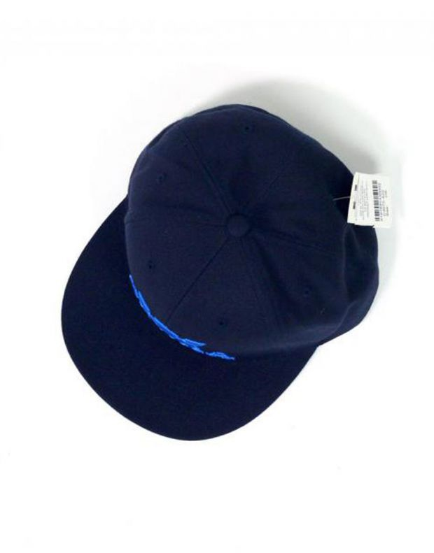SUPRA Above II Snapback Hat Navy/Royal - C3072-420 - 4