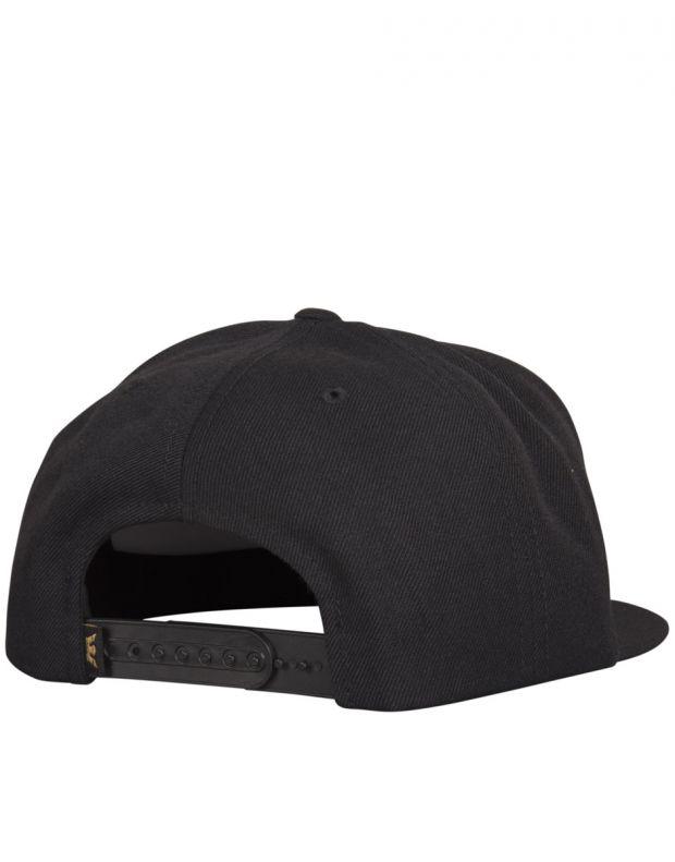SUPRA Above Snapback Hat Black/Dark Olive - C3501-081 - 2