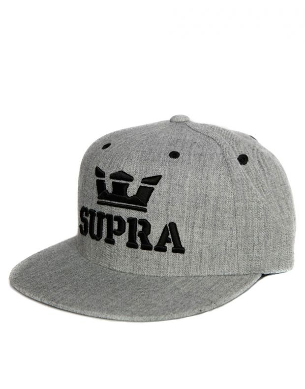 SUPRA Above Snapback Hat Grey/Black C3501-035