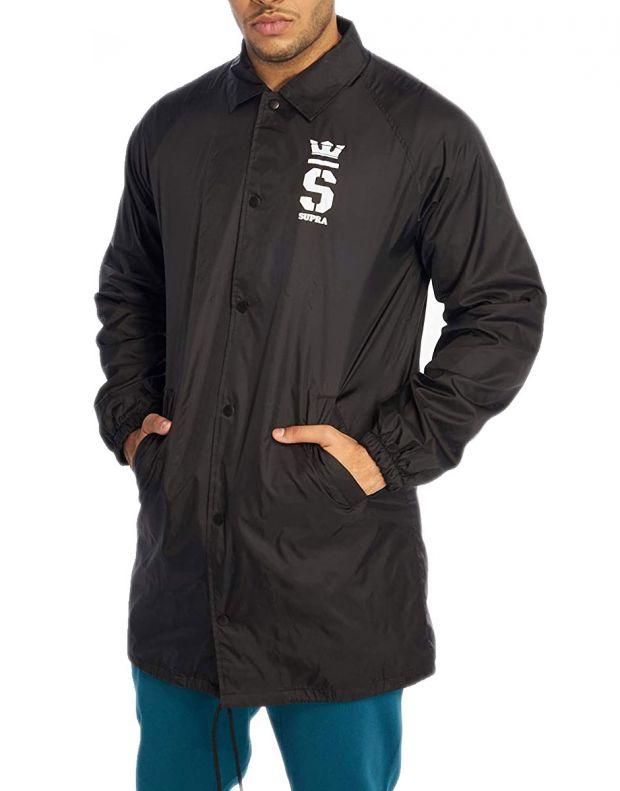 SUPRA Champ Trench Coaches Coat Black - 102092-002 - 1