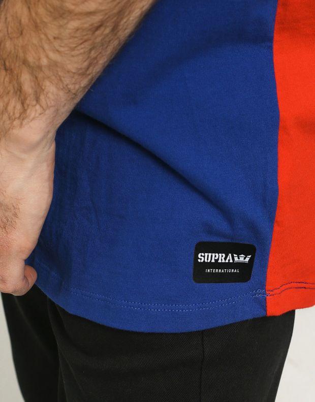 SUPRA Color Block Crew II Tee Blue - 102175-117 - 3