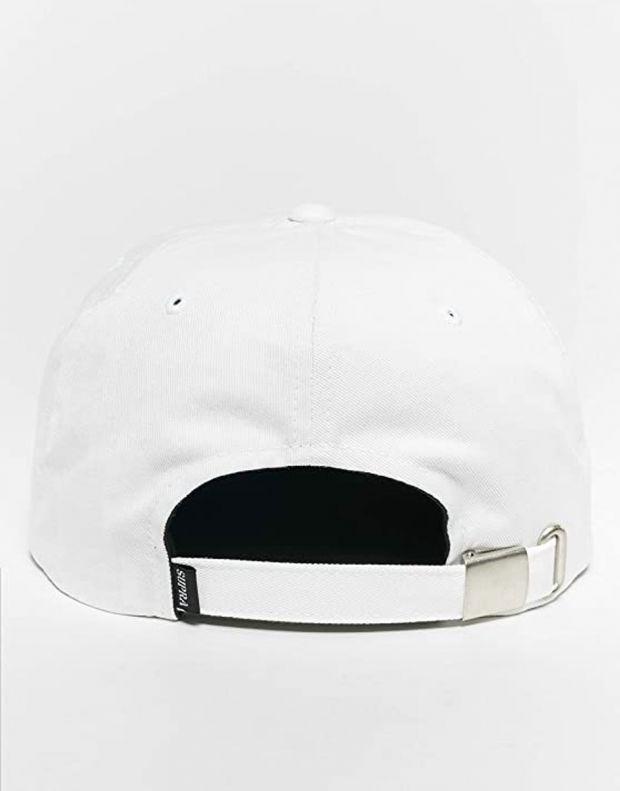 SUPRA Crown Jewel Patch Slider Hat White - C3061-102 - 2