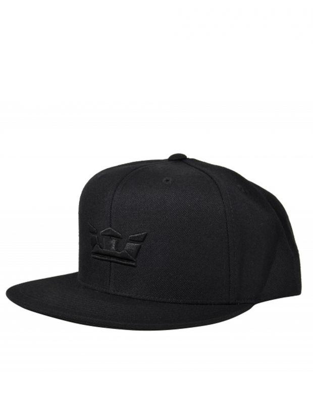 SUPRA Icon Snapback Hat All Black - C3502-001 - 1