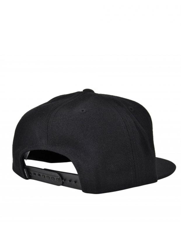 SUPRA Icon Snapback Hat All Black - C3502-001 - 2