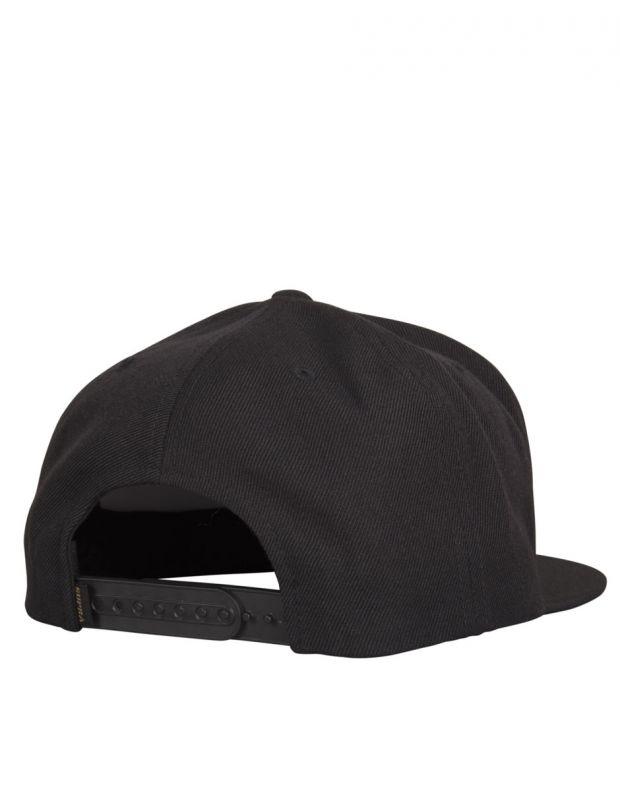 SUPRA Icon Snapback Hat Black/Tan - C3502-080 - 2