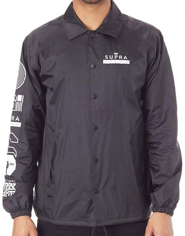 SUPRA Nexus Coach Jacket Black - 102193-008 - 1