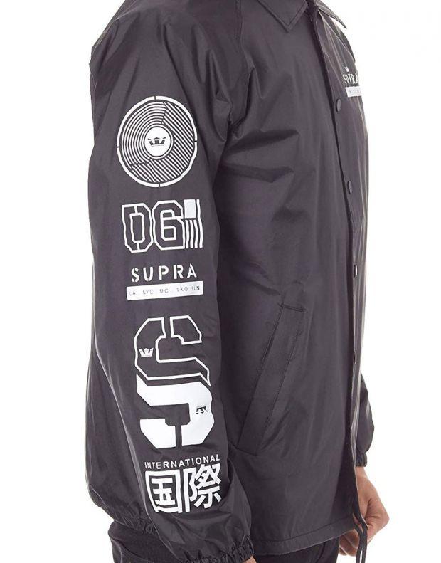 SUPRA Nexus Coach Jacket Black - 102193-008 - 3