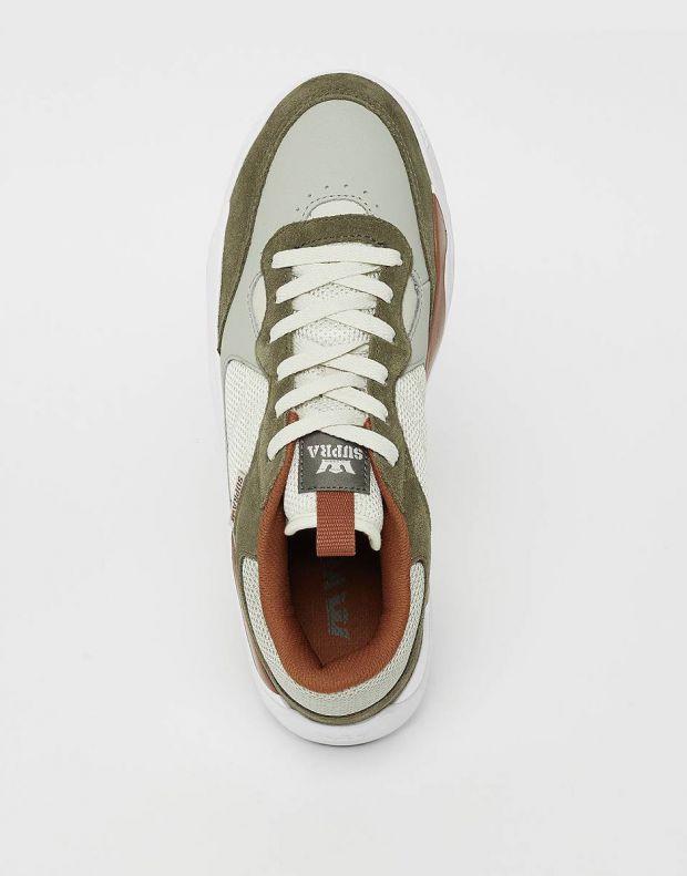 SUPRA Pecos Sneakers Green - 06375-373-M - 4