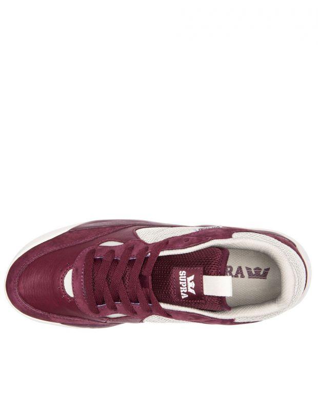 SUPRA Pecos Sneakers Red - 06375-693-M - 3