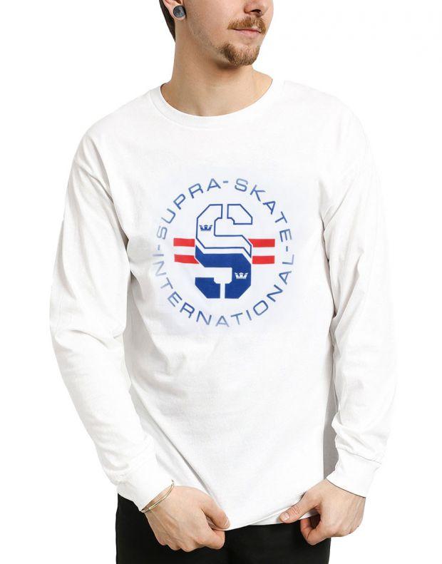 SUPRA Skate International Blouse White - 102235-100 - 1