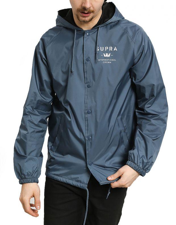 SUPRA Trademark HD Coach Jacket Navy - 102188-400 - 1