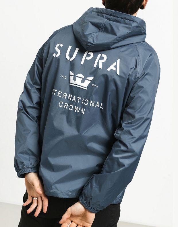 SUPRA Trademark HD Coach Jacket Navy - 102188-400 - 2
