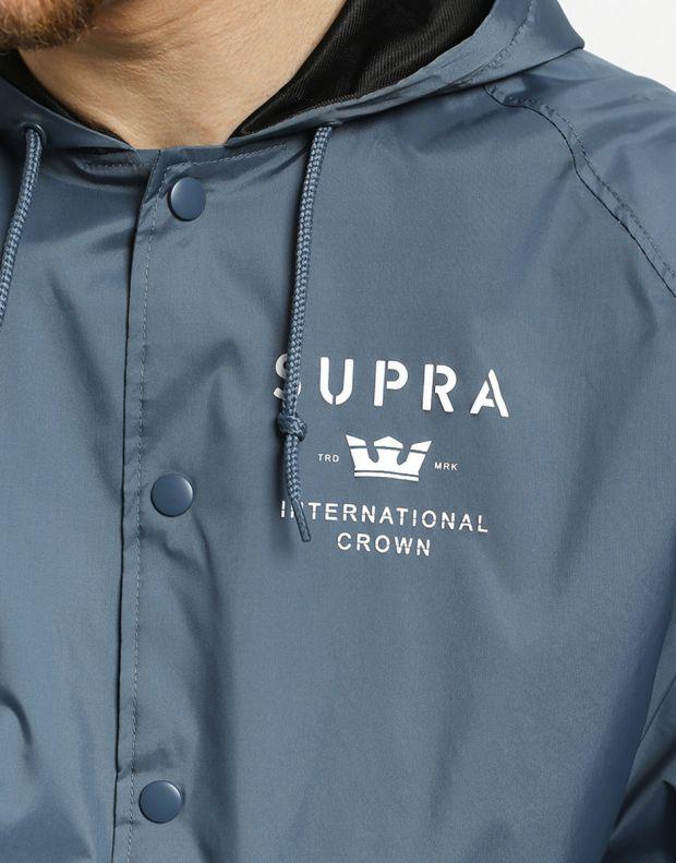 SUPRA Trademark HD Coach Jacket Navy - 102188-400 - 3