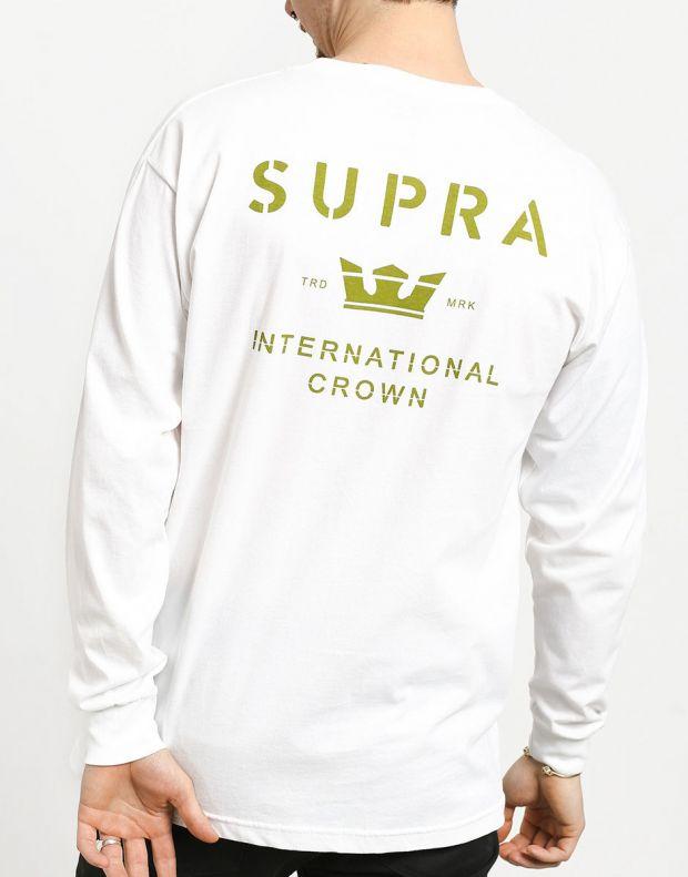SUPRA Trademark Longsleeve Blouse White - 102231-162 - 2