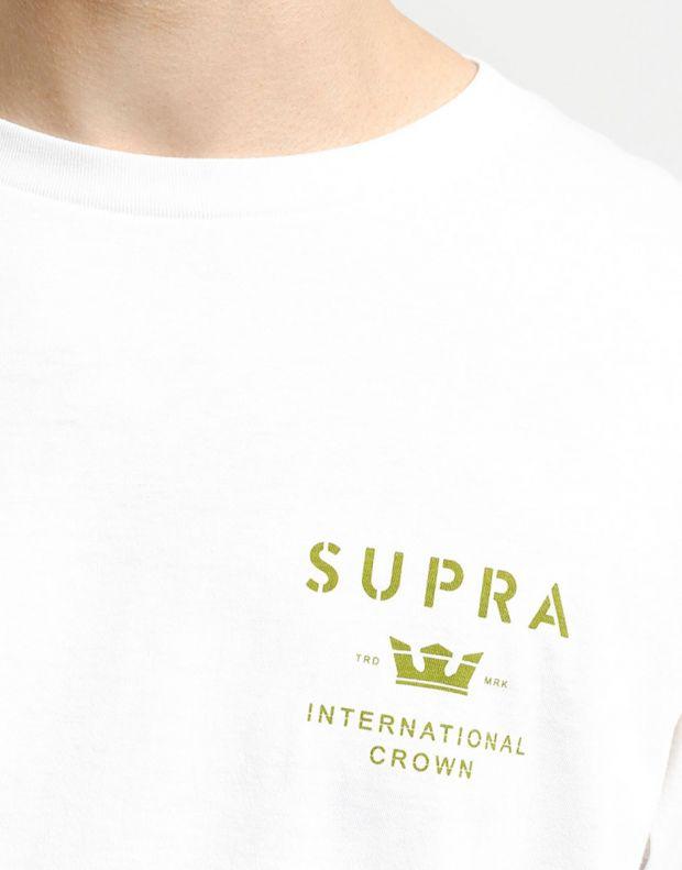 SUPRA Trademark Longsleeve Blouse White - 102231-162 - 3