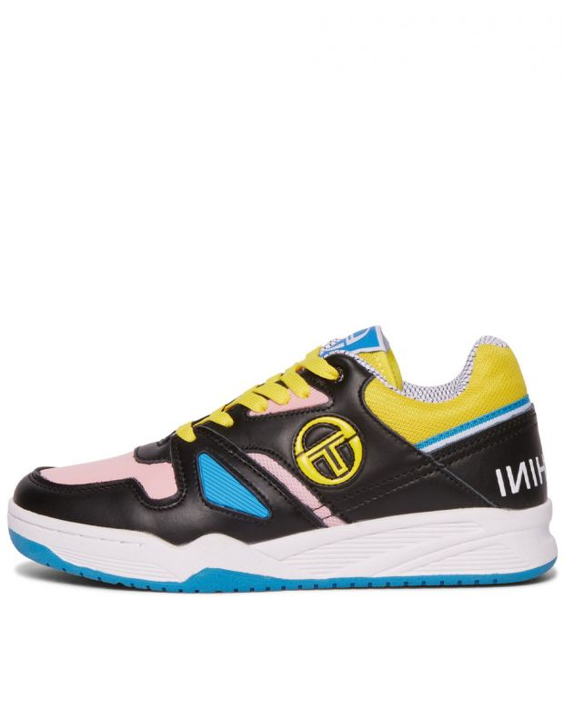 SERGIO TACCHINI Top Play Wmn Cls Lth Black Pink - 912015-05 - 1