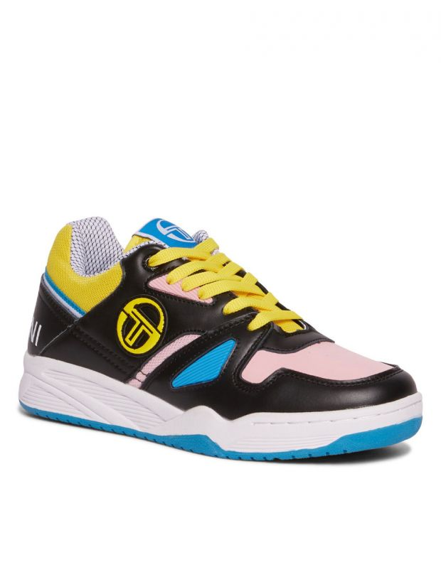 SERGIO TACCHINI Top Play Wmn Cls Lth Black Pink - 2