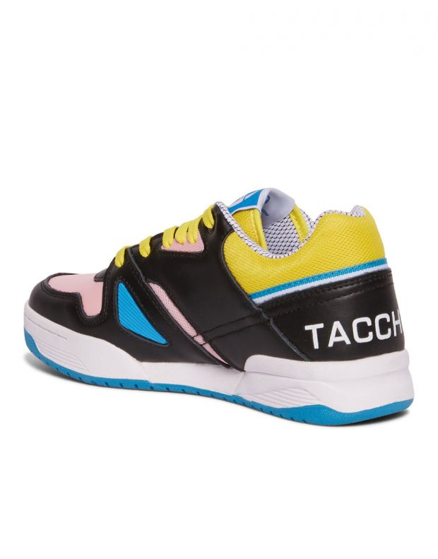 SERGIO TACCHINI Top Play Wmn Cls Lth Black Pink - 3