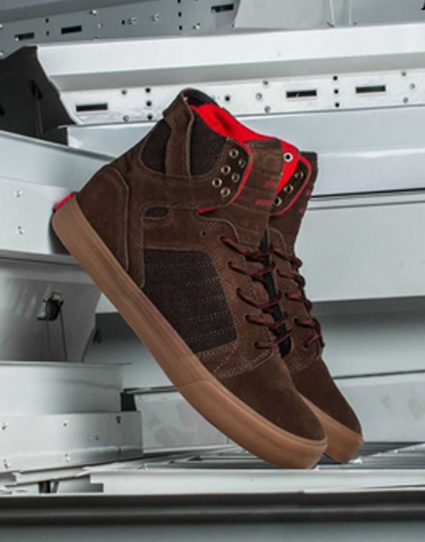 SUPRA Skytop Brown W - 4