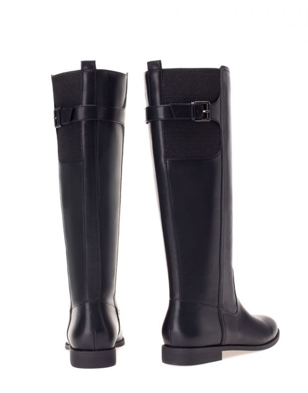 STRADIVARIUS High Boots Black - 3