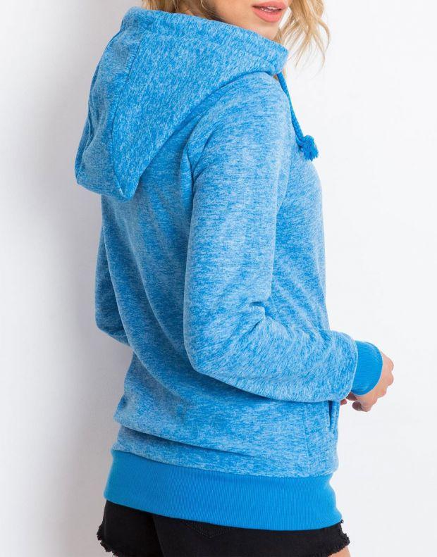 SUBLEVEL Fleece Hoodie Blue - 2