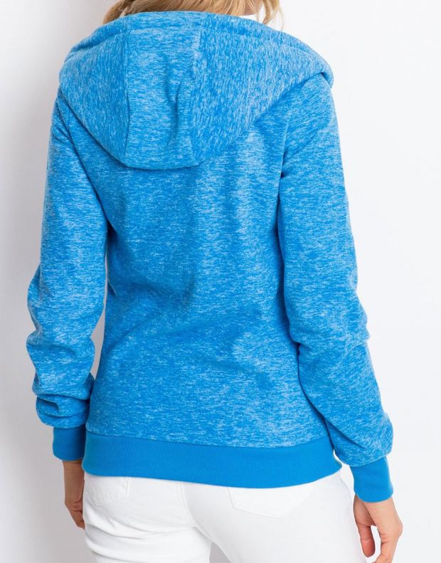 SUBLEVEL Fleece Zip Hoodie Blue - 2
