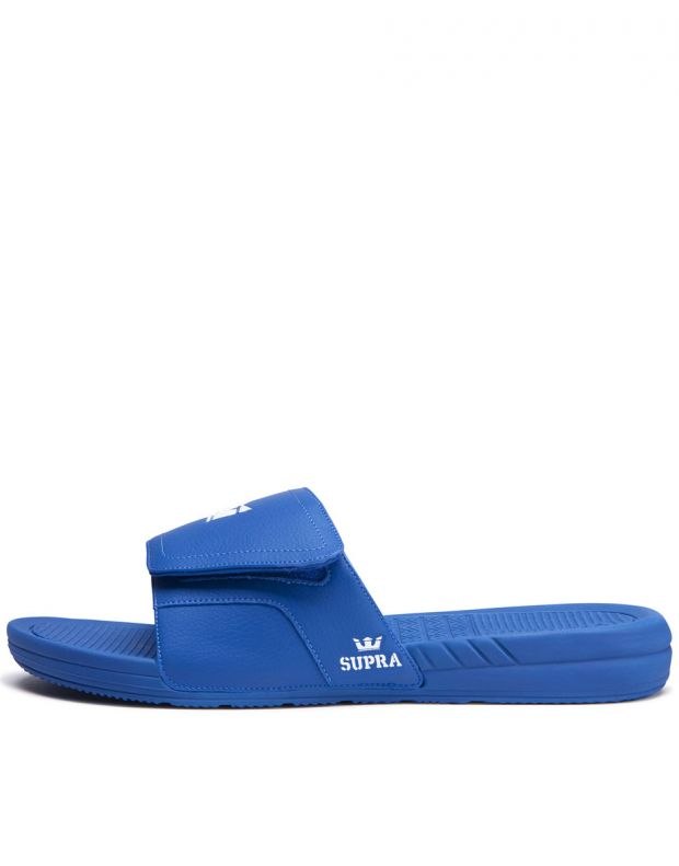 SUPRA Locker Slide Blue - 1