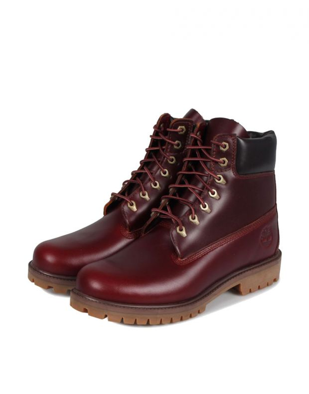 TIMBERLAND 6-Inch Premium Boots Red - A22W9 - 3