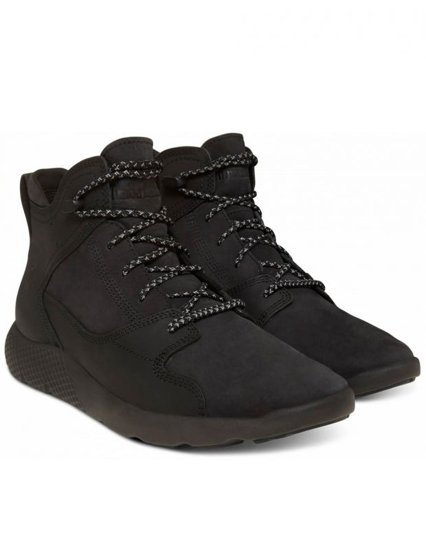 TIMBERLAND Flyroam Leather Hike All Black K - 3