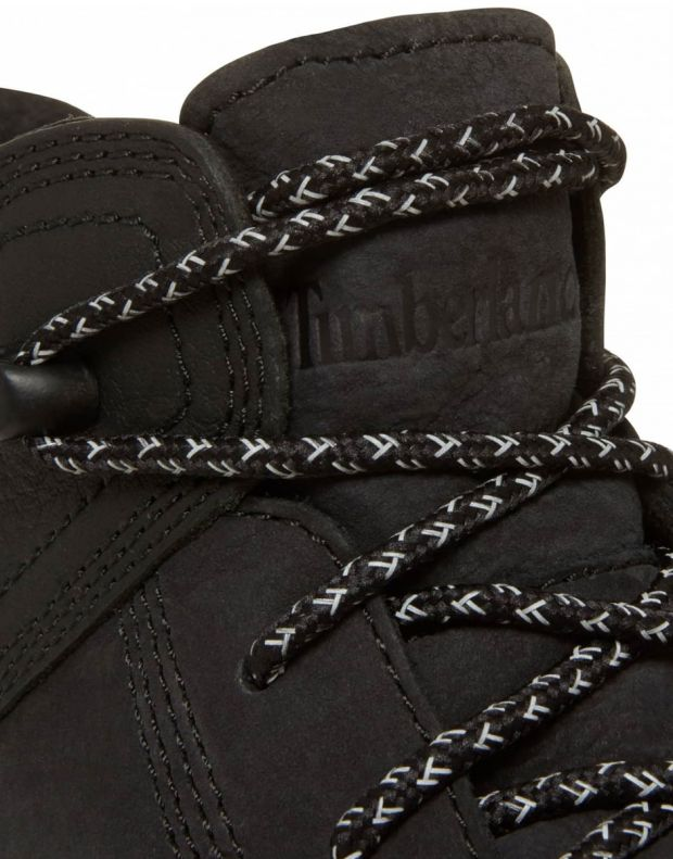 TIMBERLAND Flyroam Leather Hike All Black K - 6